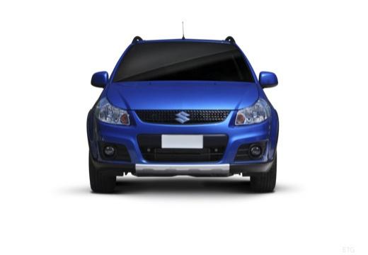SUZUKI SX4 II hatchback niebieski jasny przedni