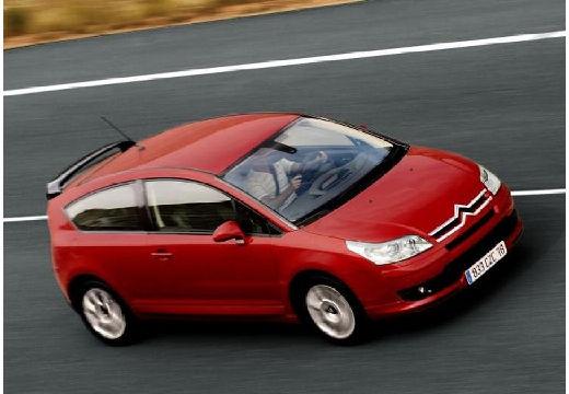 CITROEN C4 I hatchback czerwony jasny przedni prawy