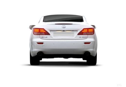 LEXUS IS C kabriolet biały tylny