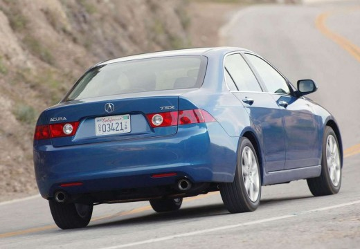ACURA TSX II sedan niebieski jasny tylny prawy