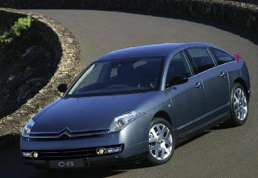 CITROEN C6 sedan szary ciemny przedni lewy