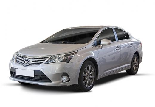 Toyota Avensis sedan silver grey