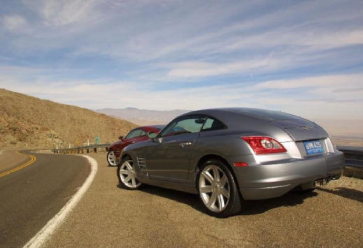 CHRYSLER Crossfire I coupe silver grey tylny lewy