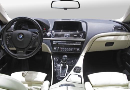 BMW Seria 6 Gran Coupe F06 II sedan tablica rozdzielcza
