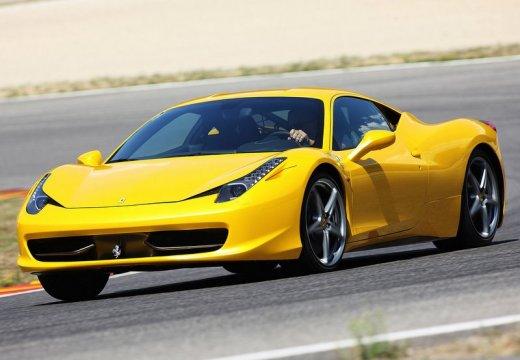 FERRARI 458 I coupe żółty przedni lewy