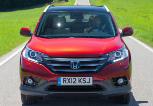 HONDA CR-V kombi czerwony jasny przedni