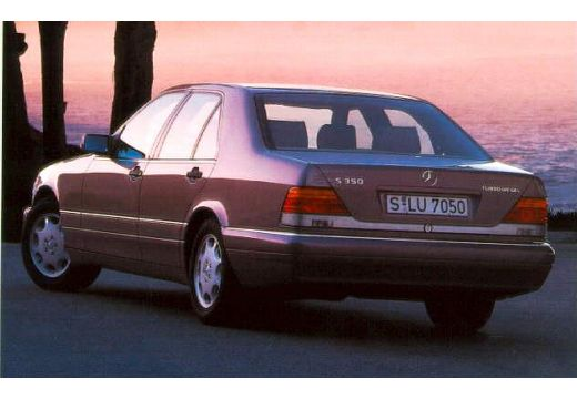 MERCEDES-BENZ Klasa S W140 I sedan tylny lewy