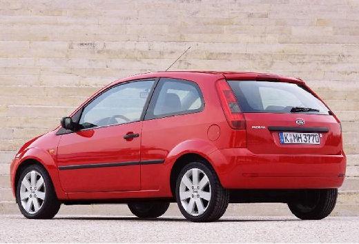FORD Fiesta V hatchback czerwony jasny tylny lewy