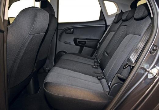 KIA Venga hatchback wnętrze
