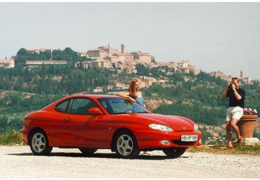 HYUNDAI Coupe I coupe czerwony jasny przedni prawy