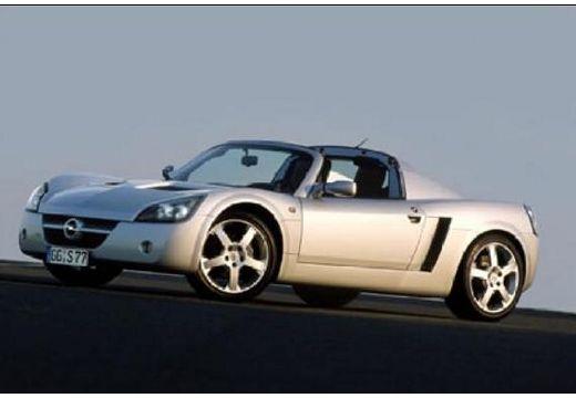 OPEL Speedster roadster silver grey przedni lewy