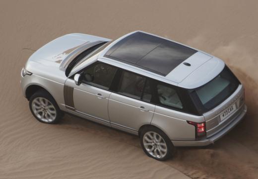 LAND ROVER Range Rover VI kombi silver grey tylny lewy