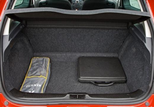 RENAULT Clio III II hatchback czerwony jasny przestrzeń załadunkowa