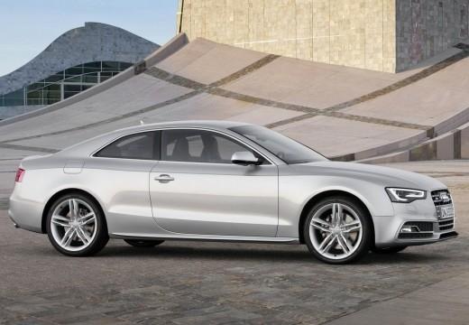 AUDI A5 II coupe silver grey przedni prawy