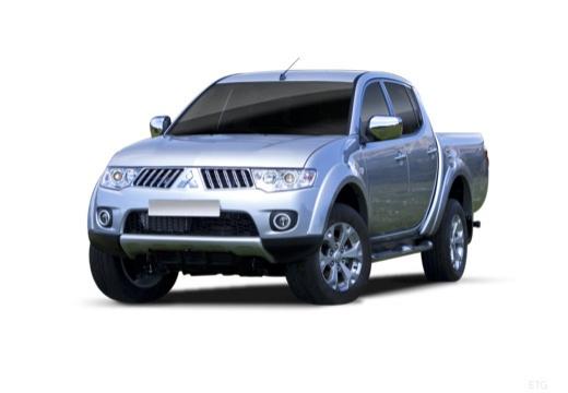 MITSUBISHI L 200 L200 pickup niebieski jasny przedni lewy