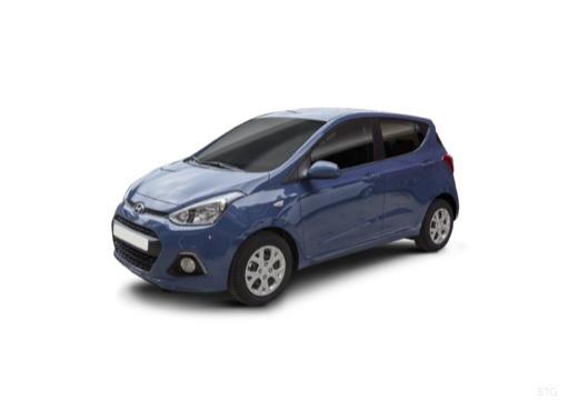 HYUNDAI i10 III hatchback niebieski jasny przedni lewy