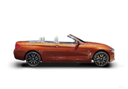 BMW Seria 4 Cabrio F33/F83 kabriolet boczny prawy
