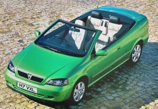 OPEL Astra II Cabriolet kabriolet zielony górny przedni