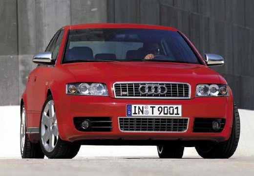AUDI A4 8E I sedan czerwony jasny przedni prawy