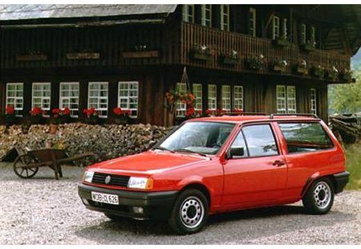 VOLKSWAGEN Polo II hatchback czerwony jasny przedni lewy