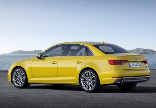 AUDI A4 I sedan żółty tylny lewy