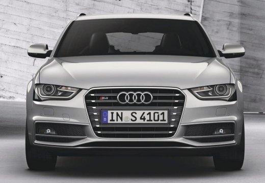 AUDI A4 Avant B8 II kombi silver grey przedni