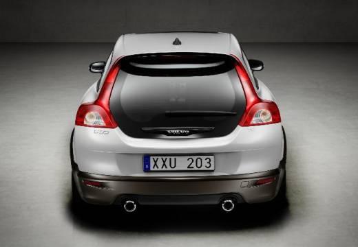 VOLVO C30 I hatchback silver grey tylny