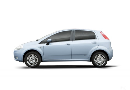 FIAT Punto Grande hatchback boczny lewy