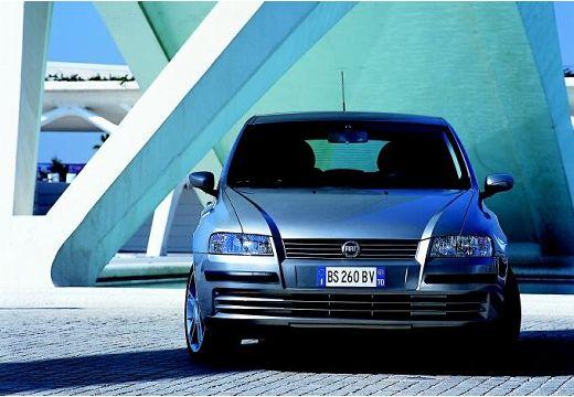 FIAT Stilo I hatchback silver grey przedni