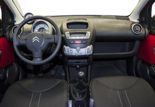 CITROEN C1 III hatchback czerwony jasny tablica rozdzielcza