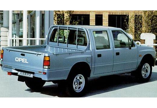 OPEL Campo pickup niebieski jasny tylny prawy