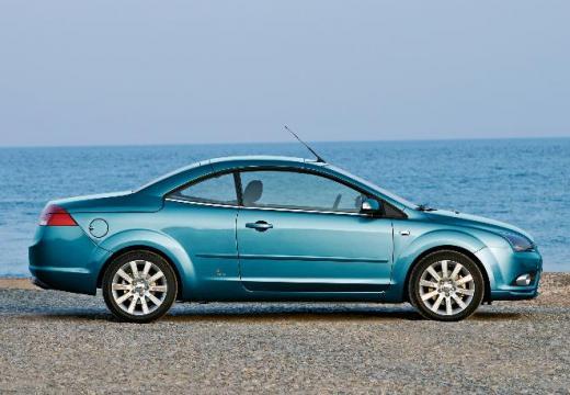 FORD Focus CC I kabriolet niebieski jasny boczny prawy