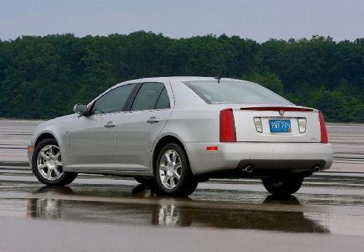 CADILLAC STS sedan silver grey tylny lewy