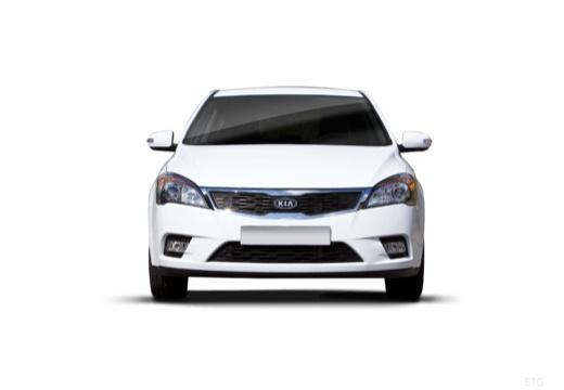 KIA Ceed II hatchback biały przedni