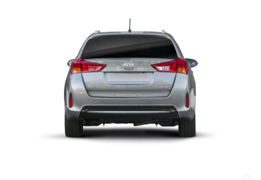Toyota Auris kombi szary ciemny tylny