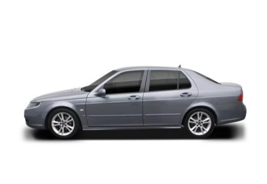 SAAB 9-5 III sedan boczny lewy
