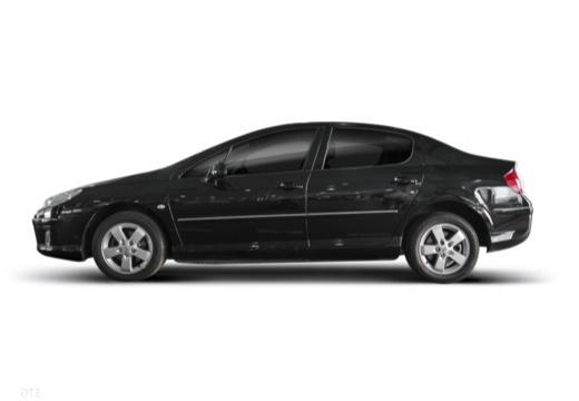 PEUGEOT 407 II sedan boczny lewy