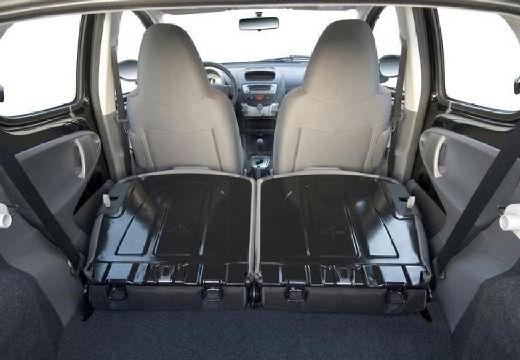PEUGEOT 107 I hatchback wnętrze