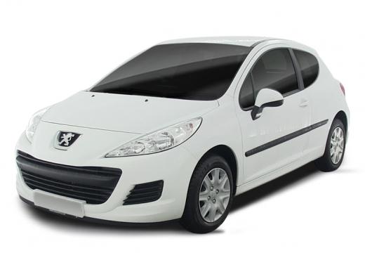 PEUGEOT 207 II hatchback biały