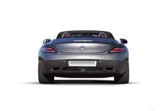 MERCEDES-BENZ SLS roadster tylny