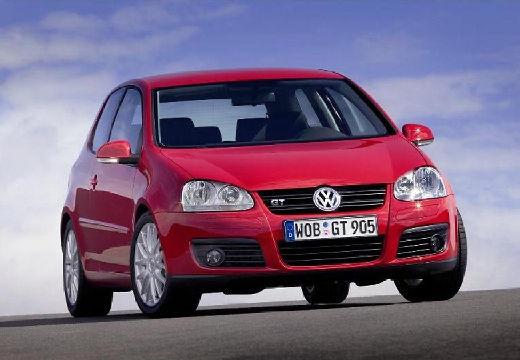 VOLKSWAGEN Golf V hatchback czerwony jasny przedni prawy