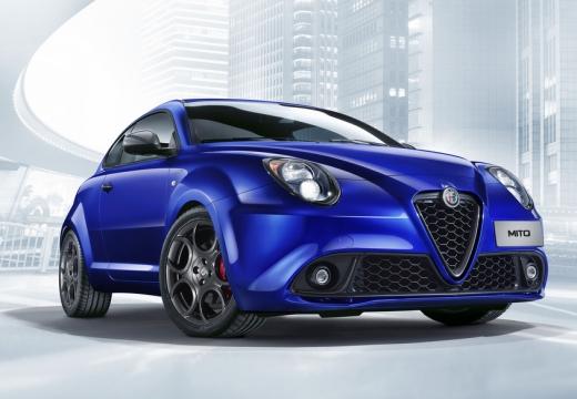 ALFA ROMEO MiTo hatchback niebieski jasny przedni prawy