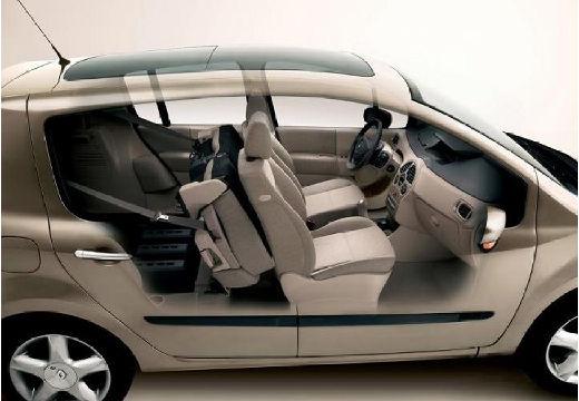 RENAULT Modus I hatchback przekrój