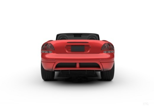 DODGE Viper Roadster coupe tylny