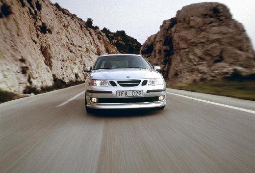 SAAB 9-3 Sport I sedan silver grey przedni