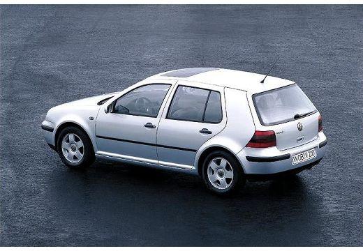 VOLKSWAGEN Golf IV hatchback silver grey tylny lewy