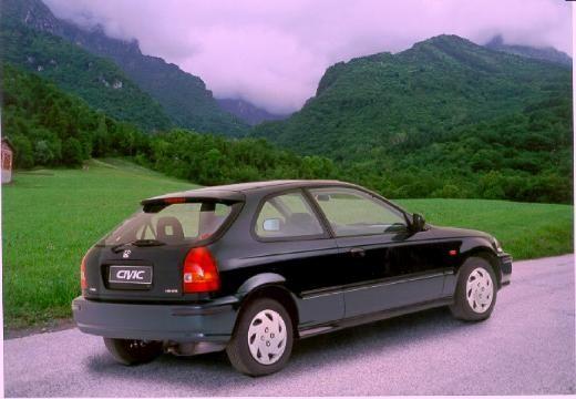 HONDA Civic III hatchback czarny tylny prawy