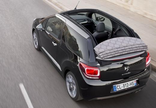 CITROEN DS3 Cabrio kabriolet czarny tylny lewy