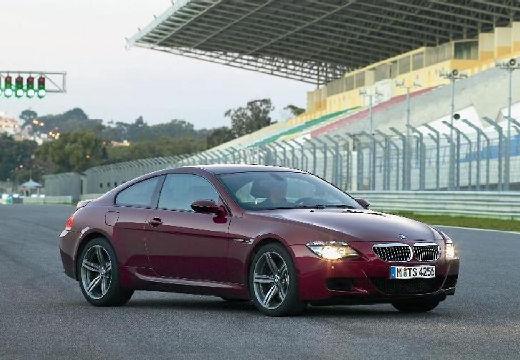 BMW Seria 6 E63 I coupe bordeaux (czerwony ciemny) przedni prawy