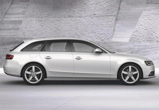 AUDI A4 Avant B8 II kombi silver grey boczny prawy